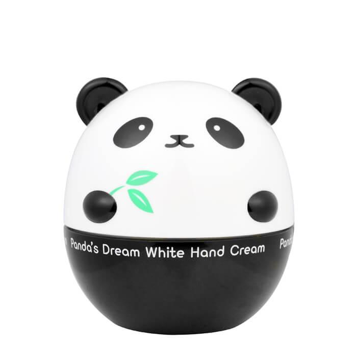 Купить Крем для рук Tony Moly Panda's Dream White Hand Cream, Нежный осветляющий крем для рук с медом дерева Манука, Южная Корея