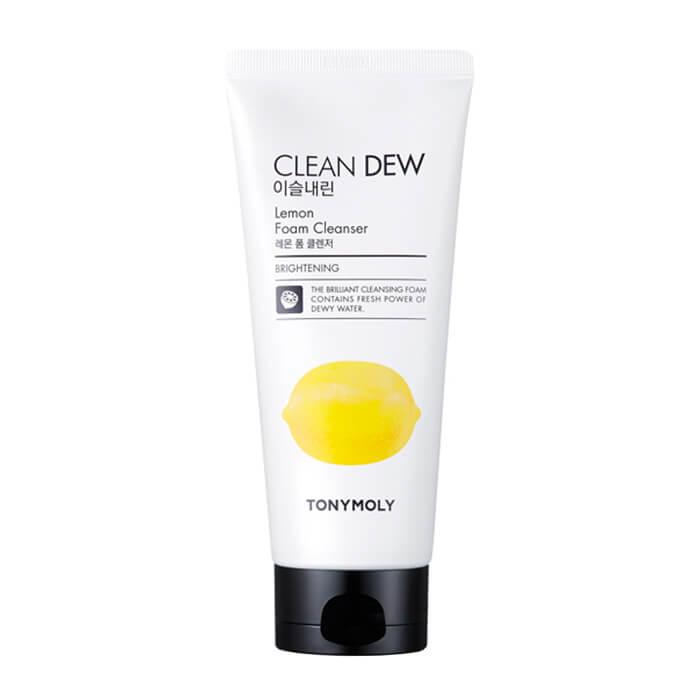 Купить Пенка для умывания Tony Moly Clean Dew Lemon Foam Cleanser, Омолаживающая пенка для умывания с экстрактом лемона, Южная Корея