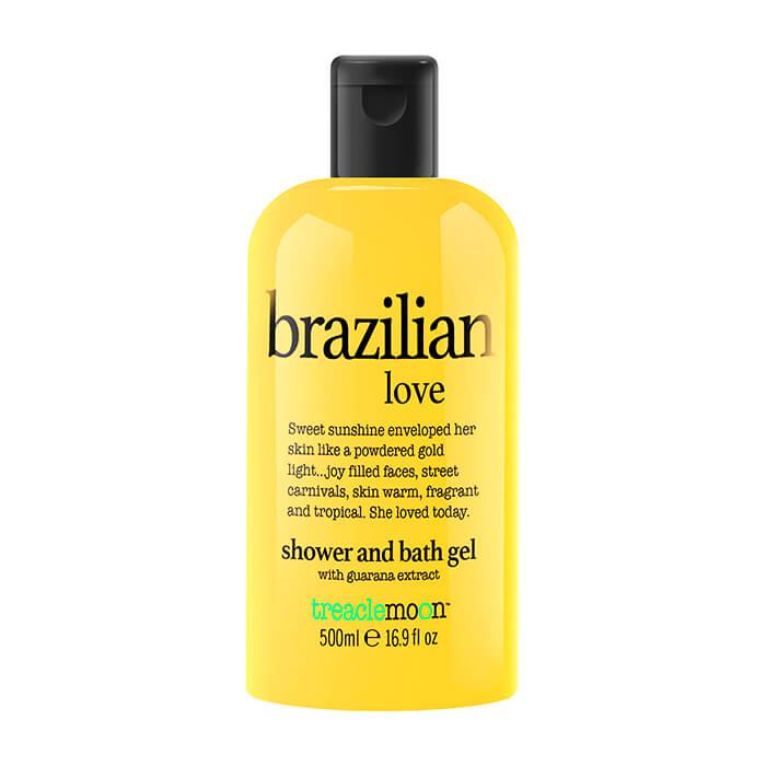 Купить ГельдлядушаTreaclemoonBrazilian Love Bath & Shower Gel (500 мл), Очищающий гель для душа с солнечным ароматом бразильского карнавала, Великобритания