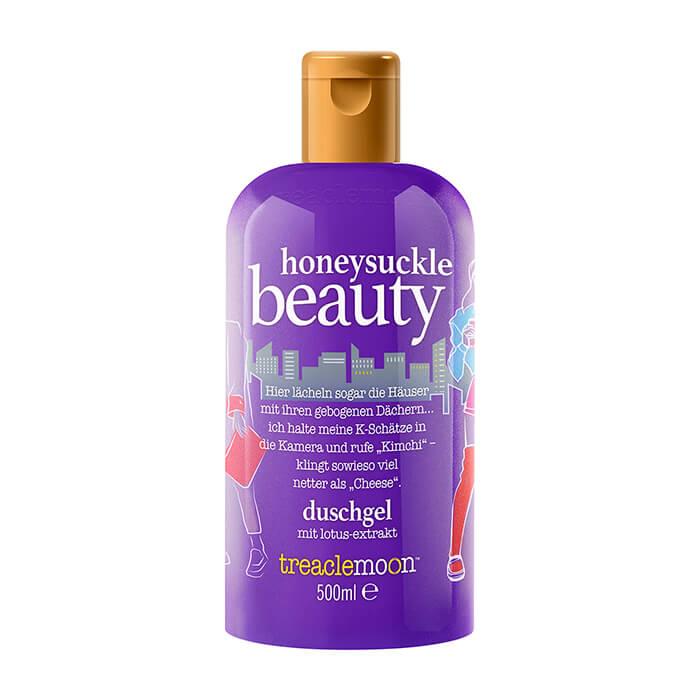 Купить Гель для душа TreaclemoonHoneysuckle BeautyBath & Shower Gel (500 мл), Очищающий гель для душа с терпкими ароматными нотками жимолости, Великобритания