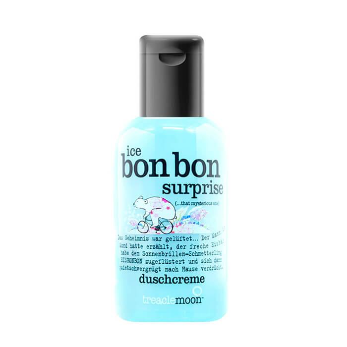 Гель для душа Treaclemoon Ice Bon Bon Surprise Bath & Shower Gel (60 мл), Очищающий гель для душа с ярким бодрящим ароматом мятного леденца, Великобритания  - Купить