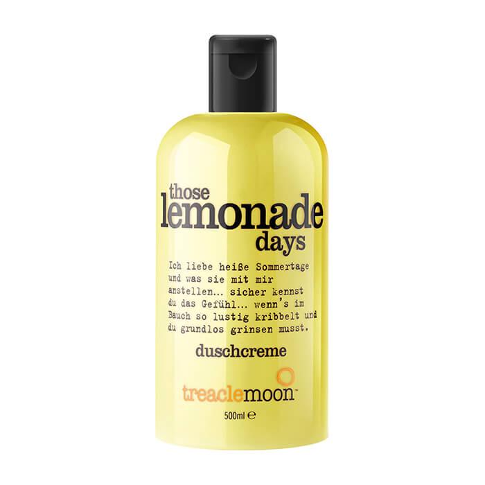 Купить Гель для душа TreaclemoonThose Lemonade DaysBath & Shower Gel (500 мл), Очищающий гель для душа с ярким бодрящим ароматом лимонада, Великобритания
