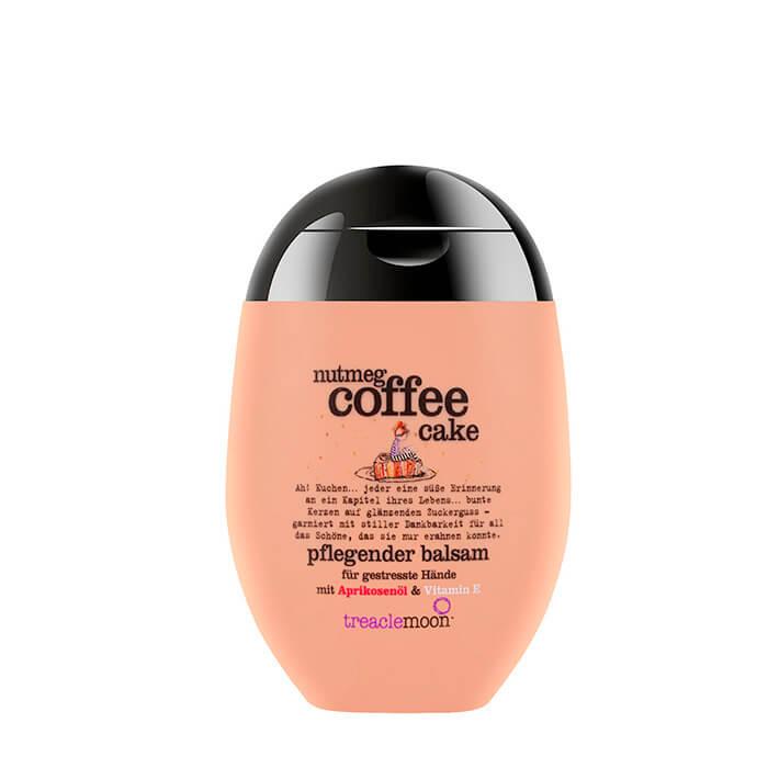 Купить Крем для рук Treaclemoon Nutmeg Coffee Cake Hand Cream, Питательный крем для кожи рук с ароматом кофейного капкейка, Великобритания