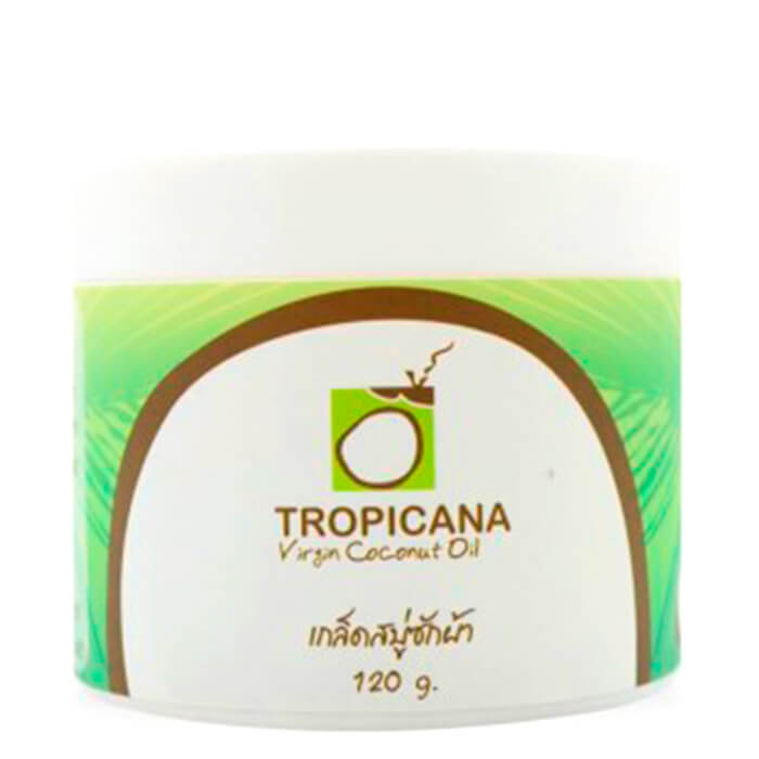 Купить Мыльные хлопья Tropicana, Гипоаллергенные мыльные хлопья для деликатной стирки с кокосовым маслом, Таиланд