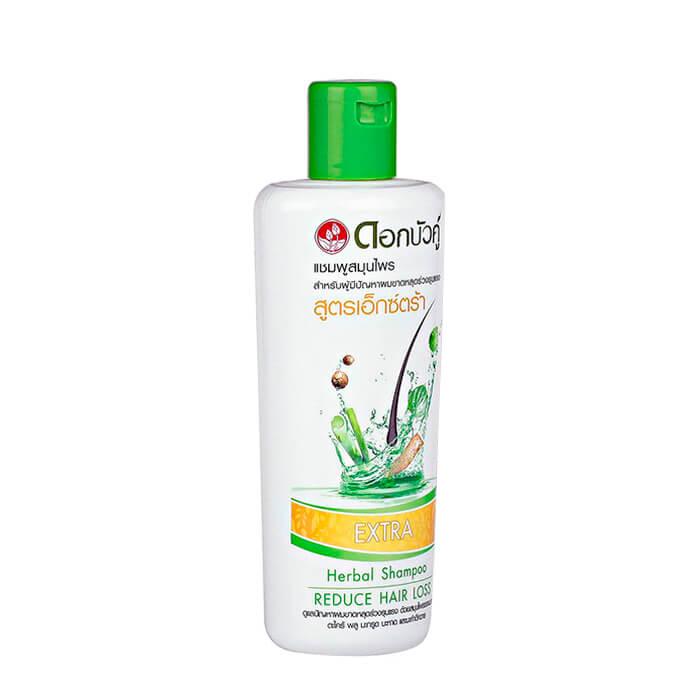 Шампунь для волос Twin Lotus Extra Herbal Shampoo Reduce Hair Loss Натуральный растительный шампунь для волос против выпадения и ломкости фото