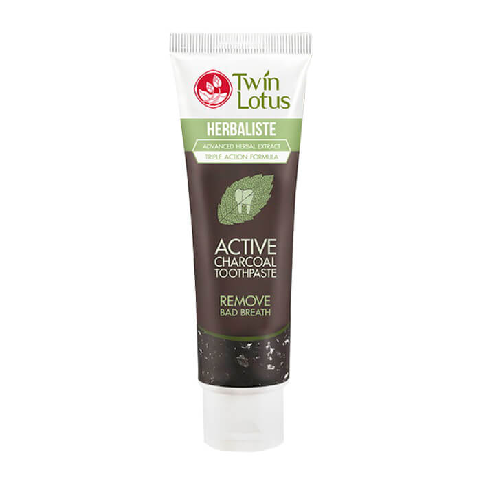 Зубная паста Twin Lotus Active Charcoal (100 г)