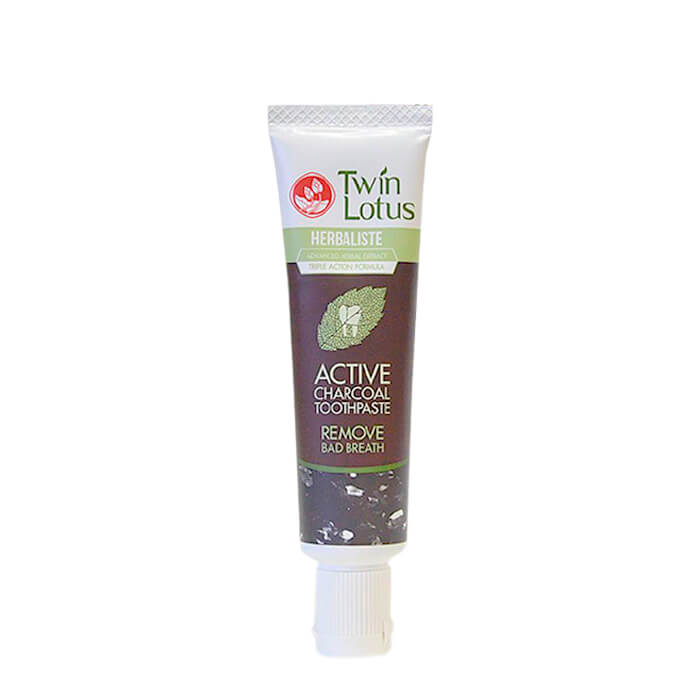 Зубная паста Twin Lotus Active Charcoal (25 г)