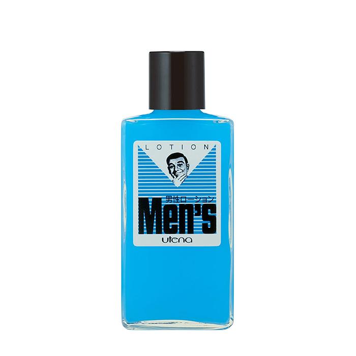Купить Мужской лосьон для лица Utena Men's Lotion, Увлажняющий лосьон для чувствительной и раздражённой мужской кожи лица, Япония
