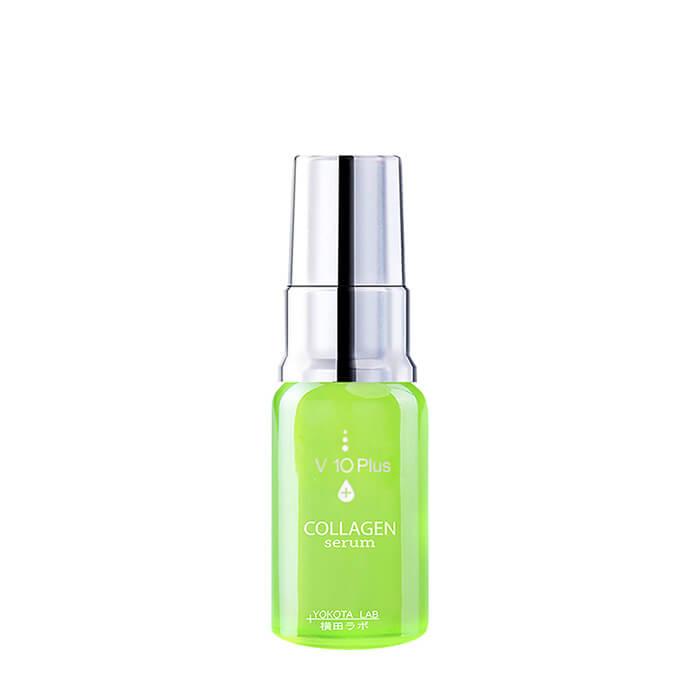 Купить Сыворотка для лица V10 Plus Collagen Serum (10 мл), Восстанавливающая сыворотка для кожи лица с коллагеном из чешуи морского окуня, Япония