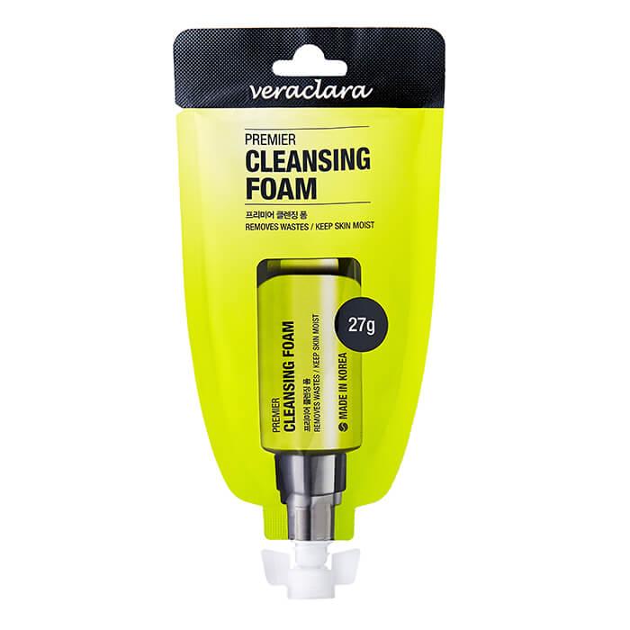 Купить Очищающая пенка Veraclara Premier Cleansing Foam, Ухаживающая пенка для умывания лица, Южная Корея