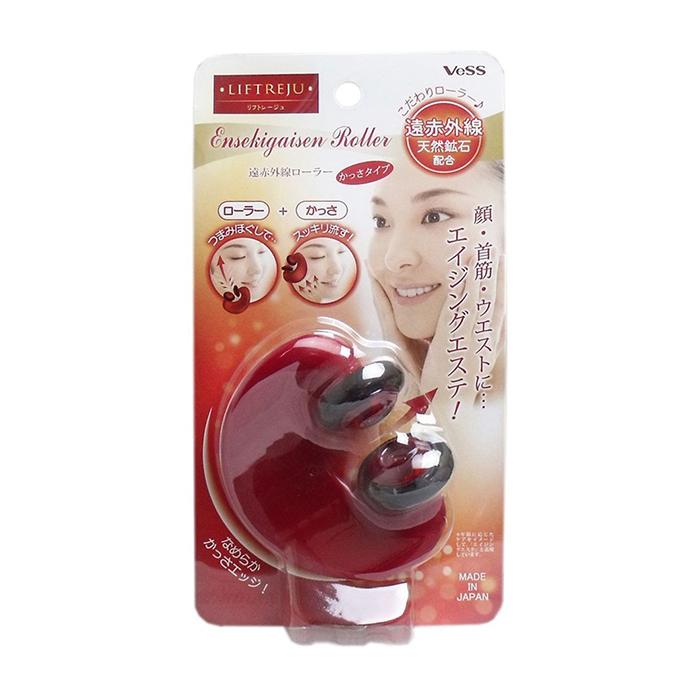 Купить Массажёр для лица и тела Vess Liftreju Face&Body Roller, Роликовый массажёр для лица и тела с минералами, Япония