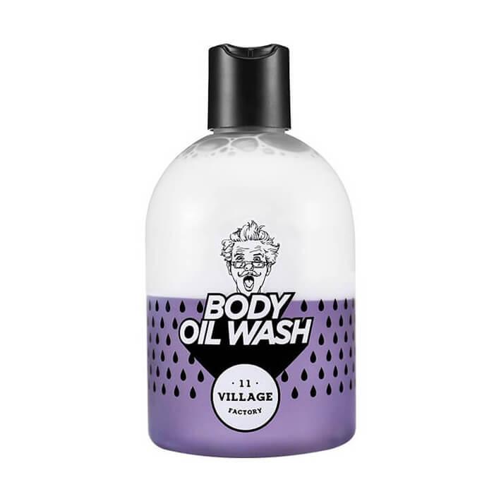 Купить Гель для тела Village 11 Factory Relax Day Body Oil Wash Violet, Двухфазный гель-масло для тела с ароматом пачули, Южная Корея