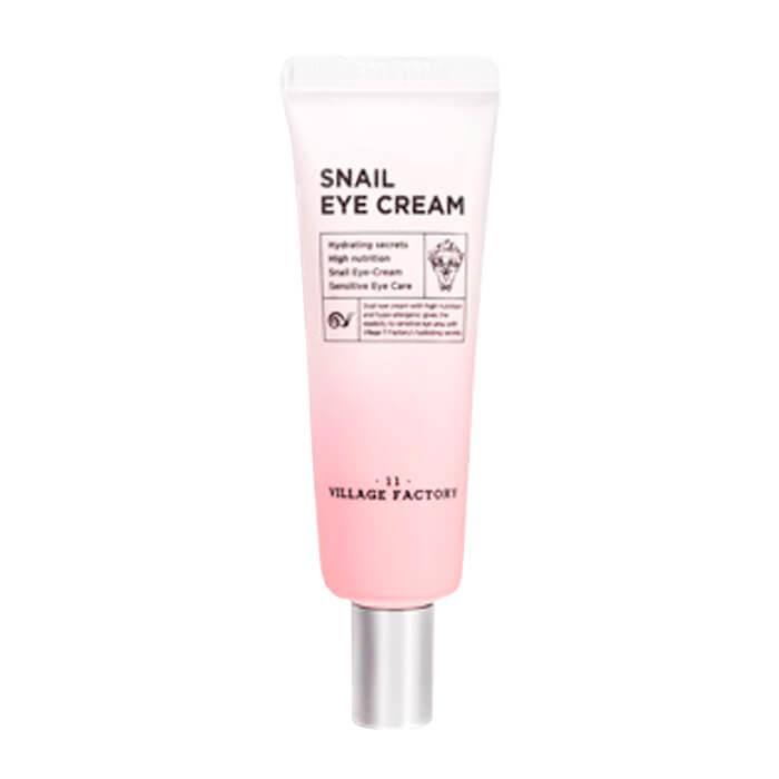 Купить Крем для век Village 11 Factory Snail Eye Cream, Крем для кожи вокруг глаз с фильтратом улиточной слизи, Южная Корея