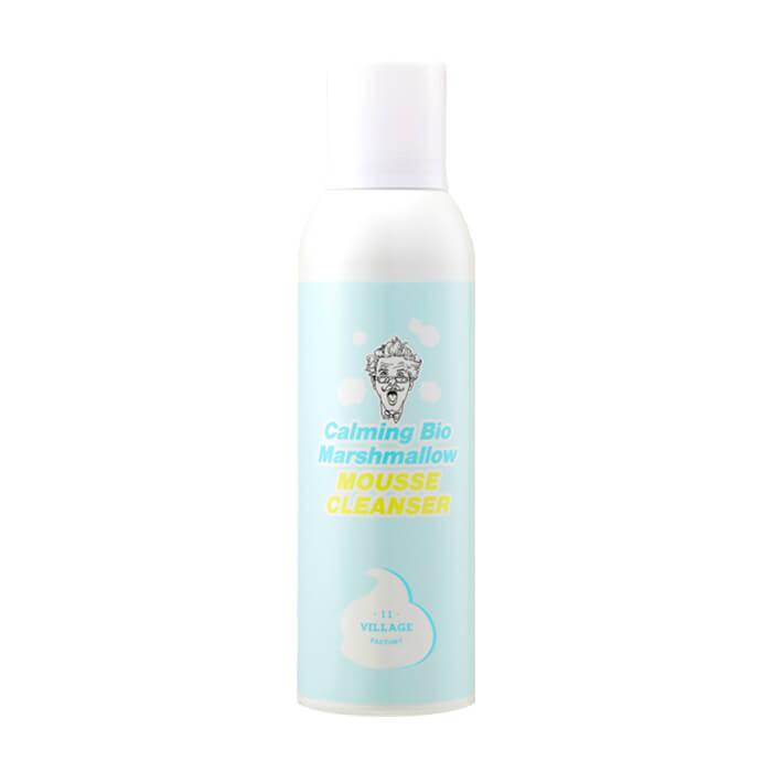 Купить Пенка для умывания Village 11 Factory Calming Bio Marshmallow Mousse Cleanser, Очищающий мусс для умывания с нежной текстурой взбитых сливок, Южная Корея