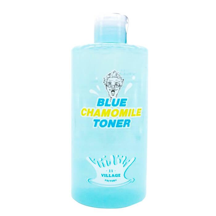 Купить Тонер для лица Village 11 Factory Blue Chamomile Toner, Успокаивающий тонер для лица с экстрактом голубой ромашки, Южная Корея
