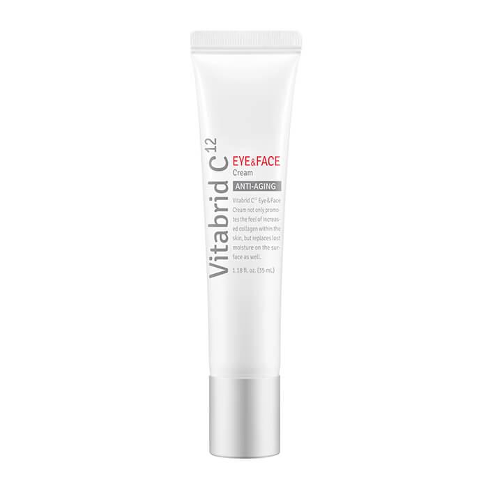 Купить Крем для лица и век Vitabrid C12 Eye & Face Cream, Антивозрастной укрепляющий крем для лица и кожи вокруг глаз, Южная Корея