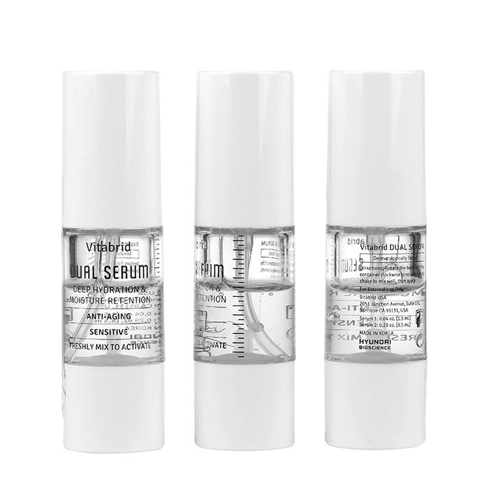 Купить Сыворотка для лица Vitabrid C12 Dual Serum (3х10мл), Набор профессиональных сывороток для лица с витамином С, Южная Корея