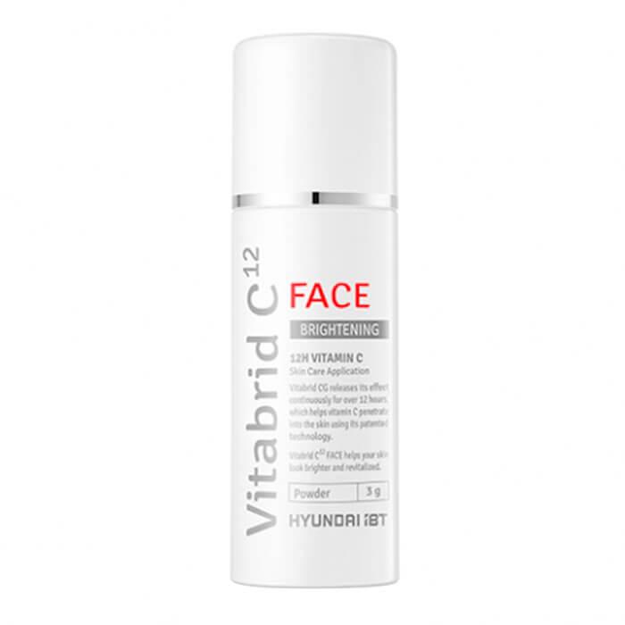 Купить Порошок для лица Vitabrid C12 Face Brightening Powder, Осветляющая сыворотка для лица с трансдермальным витамином С, Южная Корея