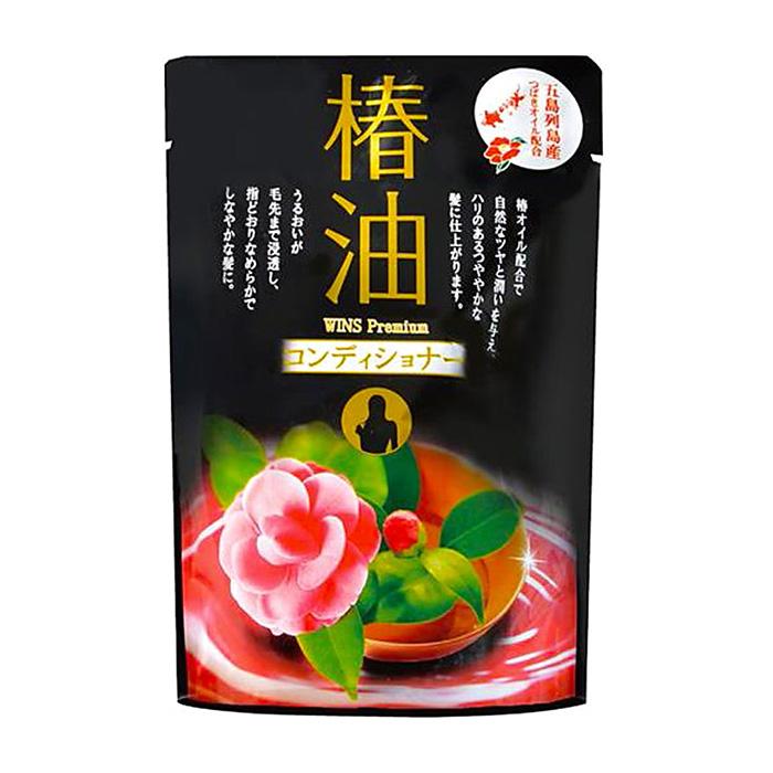 Купить Кондиционер для волос Wins Premium Conditioner, Увлажняющий кондиционер для волос с маслом камелии и цветочным ароматом, Япония