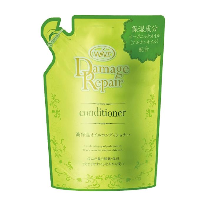 Купить Кондиционер для волос Wins Damage Repair Conditioner, Мягкий бальзам-ополаскиватель для волос с интенсивным восстанавливающим действием, Япония