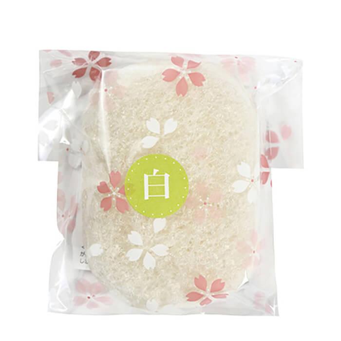 Спонж конняку Yamamoto Farm Konjac Sponge Extended Use Натуральный спонж увеличенного размера для бережного очищения кожи лица фото
