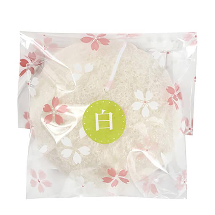 Купить Спонж конняку Yamamoto Farm Konjac Sponge, Натуральный спонж из волокон конняку для бережного очищения кожи лица, Япония
