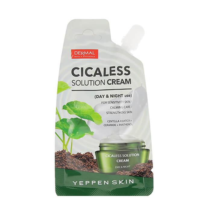 Купить Крем для лица Yeppen Skin Cicaless Solution Cream, Восстанавливающий крем для лица с экстрактом центеллы, Южная Корея