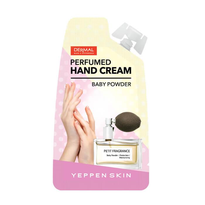 Купить Крем для рук Yeppen Skin Perfumed Hand Cream Baby Powder, Увлажняющий парфюмированный крем для рук, Южная Корея