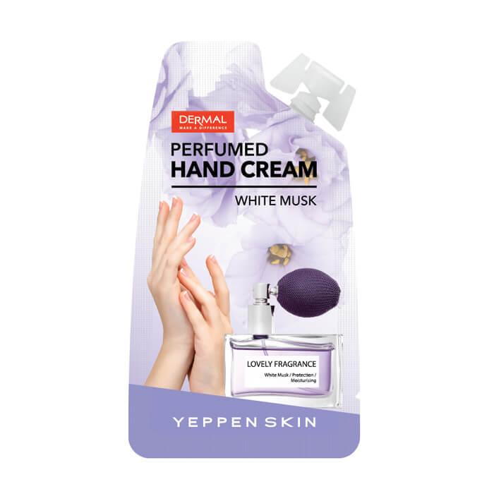 Крем для рук Yeppen Skin Perfumed Hand Cream White Musk Увлажняющий парфюмированный крем для рук фото
