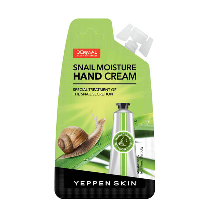 Купить Крем для рук Yeppen Skin Snail Moisture Hand Cream, Увлажняющий крем для рук с муцином улитки, Южная Корея