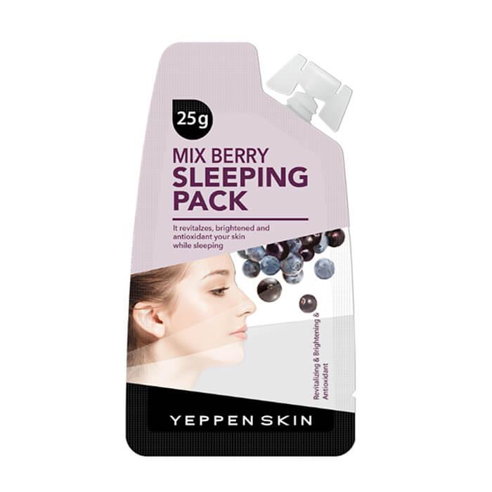 Ночная маска Yeppen Skin Mix Berry Sleeping Pack Увлажняющая ночная маска с экстрактом ягод фото