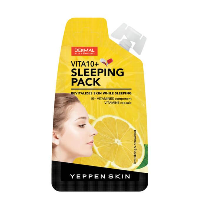 Купить Ночная маска Yeppen Skin Vita 10 Sleeping Pack, Ночная маска для лица с витаминами, Южная Корея