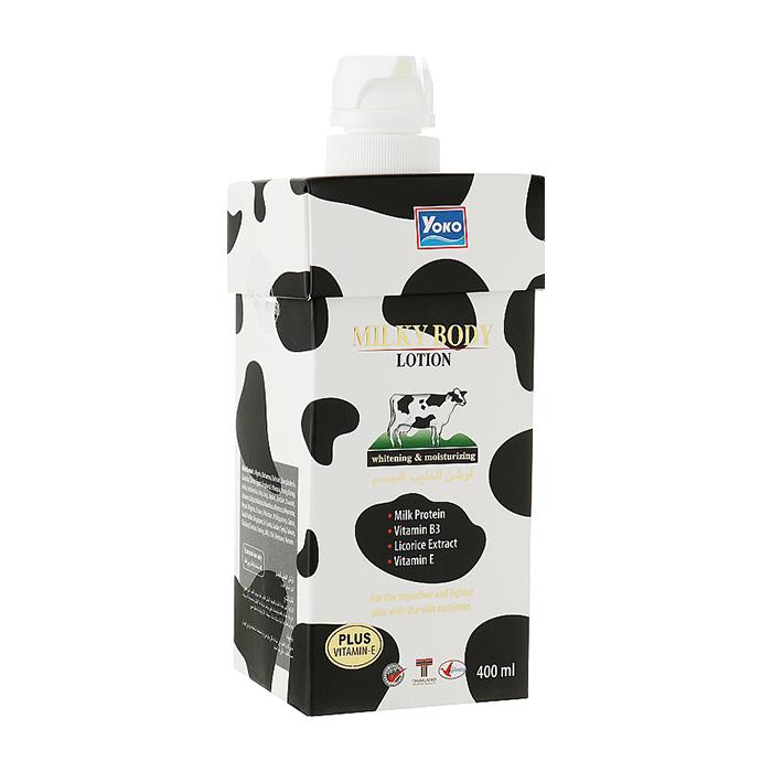 Купить Лосьон для тела YOKO Milky Body Lotion, Увлажняющий и питательный лосьон для тела с молочными протеинами, Таиланд