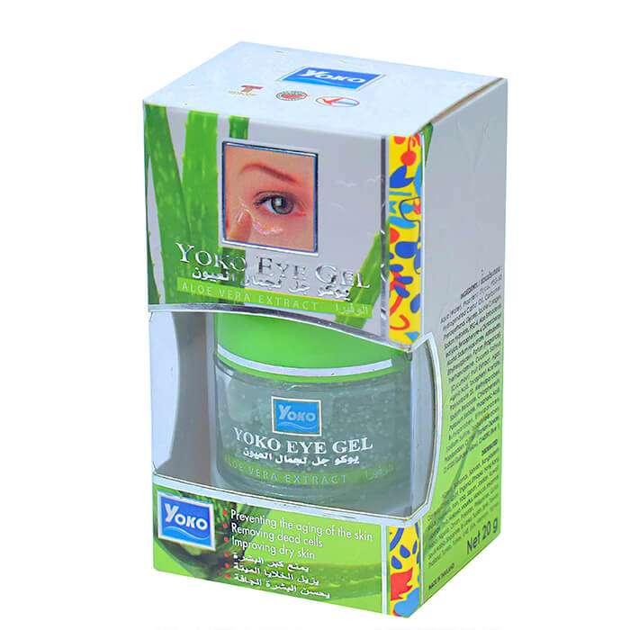 Купить Гель для век YOKO Eye Gel - Aloe Vera Extract, Увлажняющий гель для кожи век с экстрактом алое вера, Таиланд