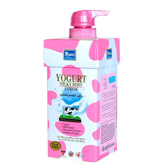 Лосьон для тела YOKO Yogurt Milky Body Lotion Увлажняющий и питательный лосьон для тела с молочными протеинами фото