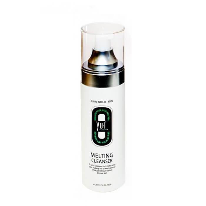 Купить Гель для снятия макияжа Yu.r Melting Cleanser, Тающий гель для полного растворения макияжа и загрязнений кожи лица, Южная Корея