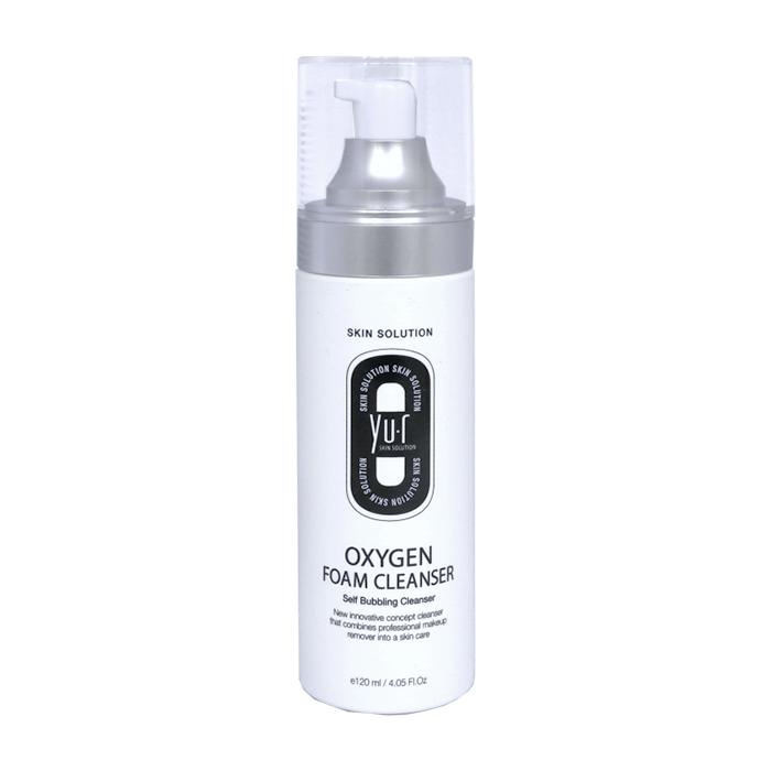 Купить Пенка для умывания Yu.r Oxygen Foam Cleanser, Кислородная пенка для нежного и бережного очищения кожи лица, Южная Корея