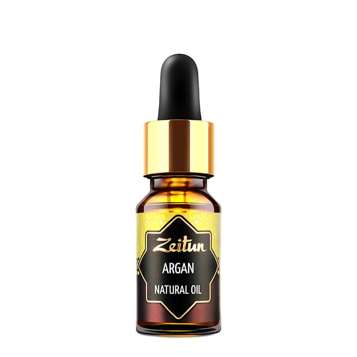 Купить Аргановое масло Zeitun Argan Natural Oil (10 мл), Чистое нерафинированное натуральное растительное масло арганы, Иордания