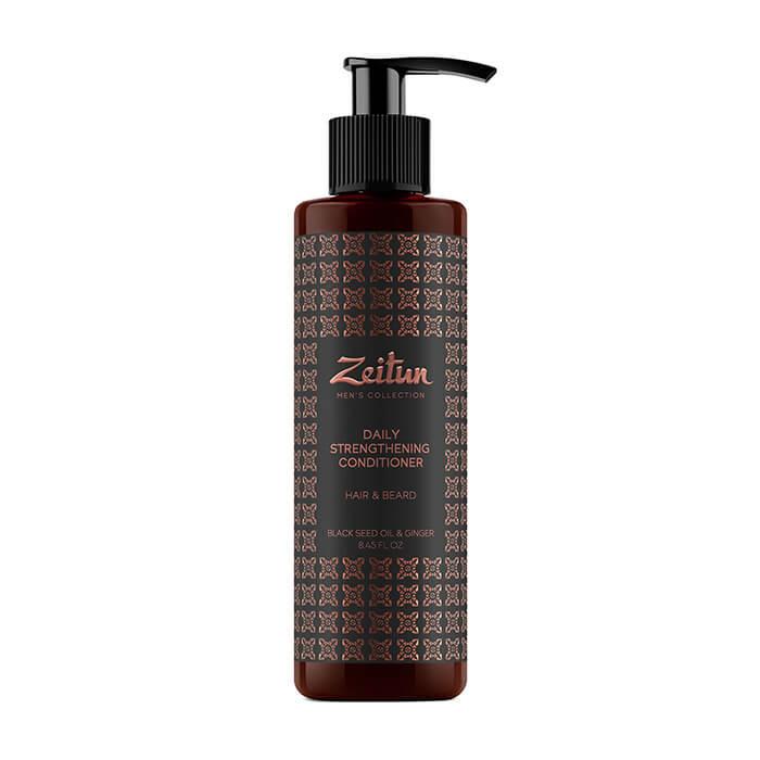 Бальзам для волос и бороды Zeitun Black Seed Oil & Ginger Daily Strengthening Conditioner