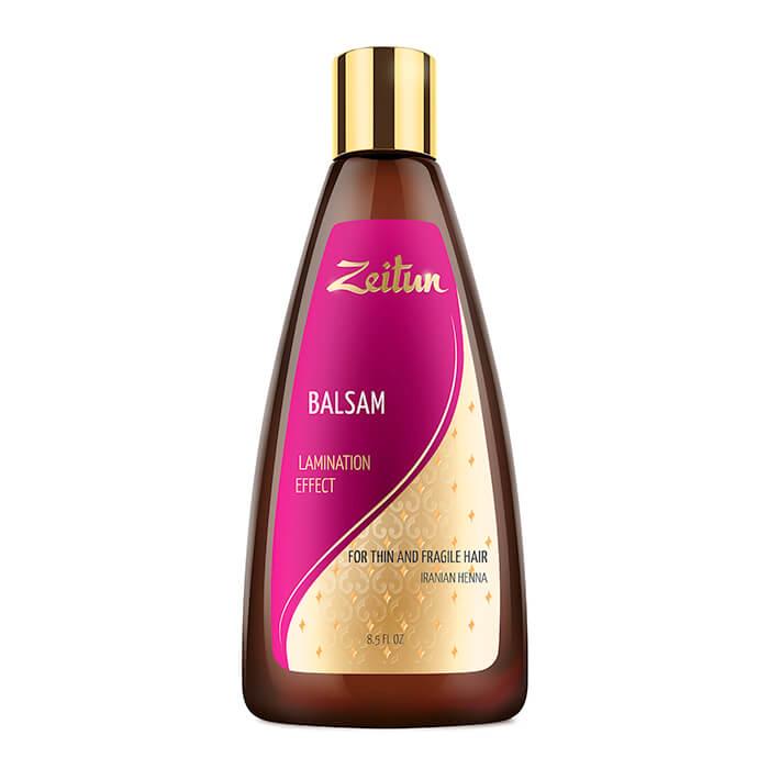 Купить Бальзам для волос Zeitun Balsam Lamination Effect, Бальзам с эффектом ламинирования волос с иранской хной, Иордания