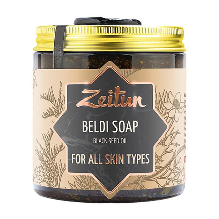 Бельди для лица Zeitun Чёрный тмин Универсальное бельди для умывания кожи лица с маслом чёрного тмина фото