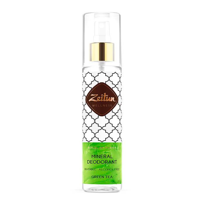 Дезодорант Zeitun Mineral Deodorant - Green Tea Минеральный спрей-антиперспирант с натуральными квасцами фото