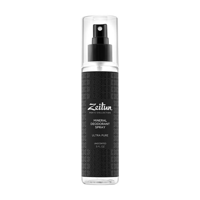 Купить Дезодорант Zeitun Ultra Pure Mineral Deodorant Spray, Мужской минеральный дезодорант-антиперспирант нейтральный без запаха, Иордания