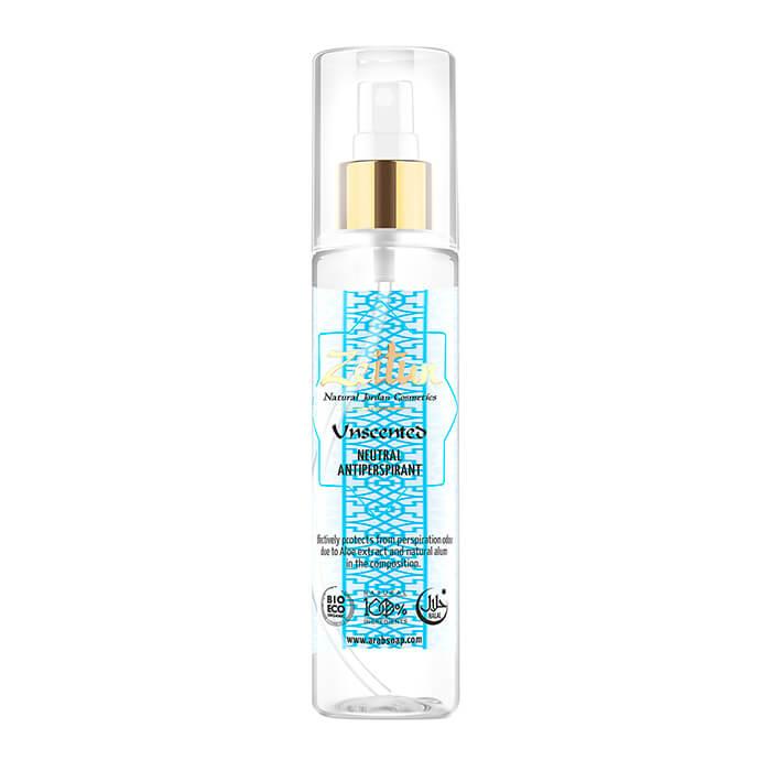 Купить Дезодорант Zeitun Unscented Neutral Antiperspirant, Нейтральный спрей дезодорант-антиперсперант без запаха, Иордания