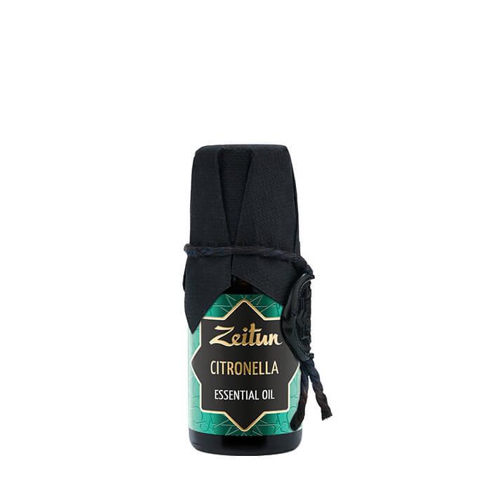 Купить Эфирное масло Zeitun Citronella Essential Oil, 100% натуральное эфирное масло цитронеллы, Иордания