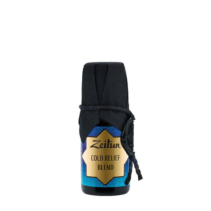 Эфирные масла Zeitun Cold Relief Blend Смесь эфирных масел для борьбы с простудами и переохлаждением фото