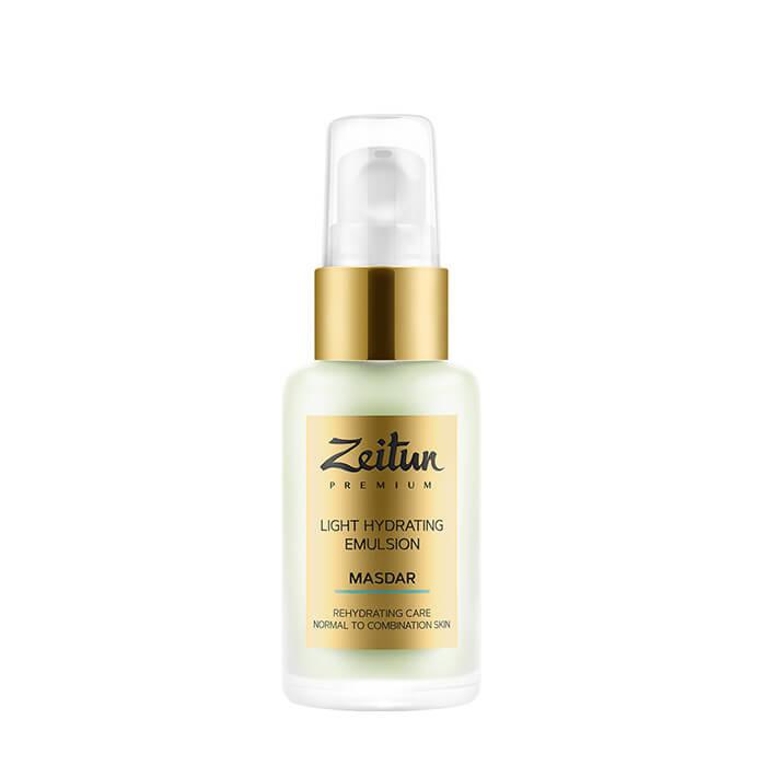 Купить Эмульсия для лица Zeitun Masdar Light Hydrating Emulsion (50 мл), Лёгкая дневная эмульсия для лица с гиалуроновой кислотой, Иордания