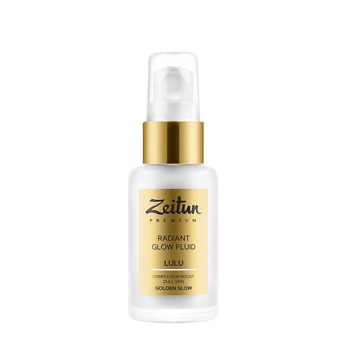 Купить Флюид для лица Zeitun Lulu Radiant Glow Fluid Golden Glow, Дневной флюид со светоотражающими частицами для сияния лица, Иордания