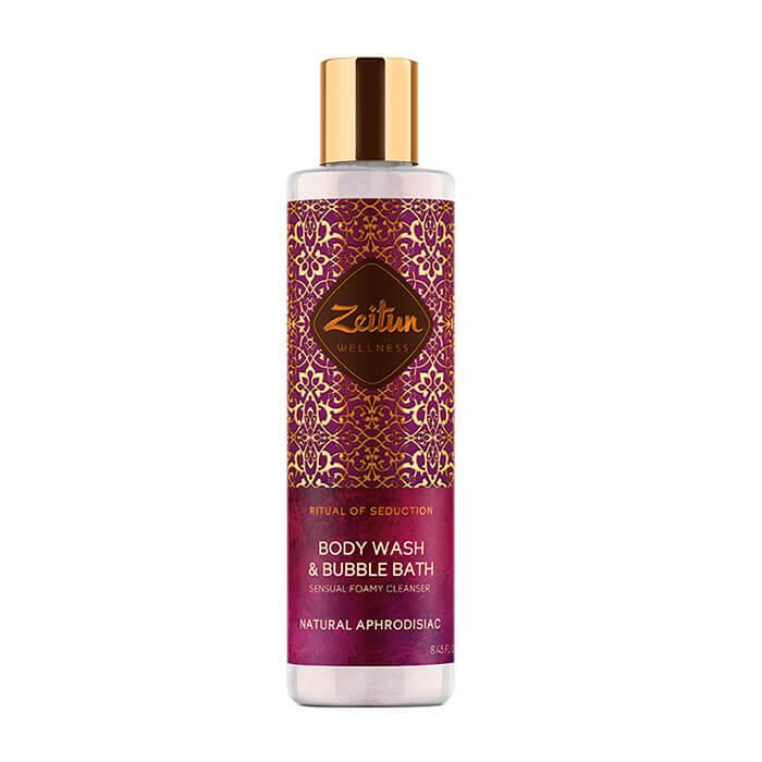 Купить Гель для душа Zeitun Ritual of Seduction Body Wash & Bubble Bath, Гель для ванны и душа с жасмином и натуральным афродизиаком, Иордания