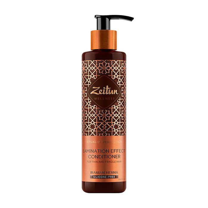 Купить Кондиционер для волос Zeitun Ritual of Perfection Lamination Effect Conditioner, Смягчающий кондиционер для эффекта ламинирования волос с иранской хной, Иордания